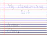 Handwriting Sheets- QLD Beginners Font