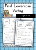 Handwriting - Sight Words {Lowercase Letters}