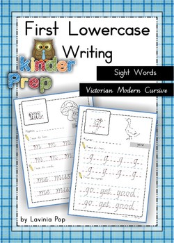 Handwriting - Sight Words {Lowercase Letters} Vic. Modern