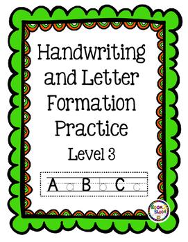 Handwriting Skills Level 1-8