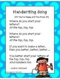 Handwriting Song