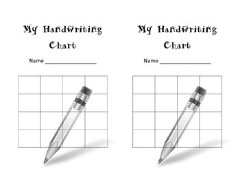 Handwriting Sticker Chart