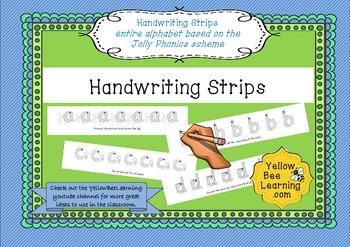 Handwriting Strips