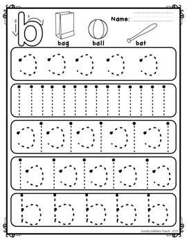 Handwriting Strokes to Practice the Alphabet