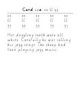 Handwriting Task Cards: ee ll zz