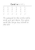 Handwriting Task Cards: itlj