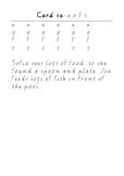 Handwriting Task cards: eofs