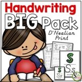 Handwriting ULTIMATE Pack! (D'Nealian/Modern Manuscript Print)