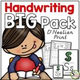 Handwriting ULTIMATE Pack! (D'Nealian/Modern Manuscript Print)