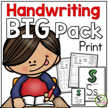 Handwriting ULTIMATE Pack! {Print/Traditional Manuscript}