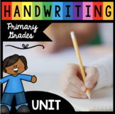 Handwriting Unit - How to Write Letters - Complete Alphabe