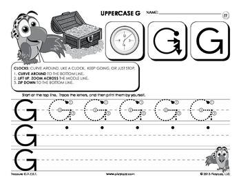 Printing Uppercase Letters Workbook