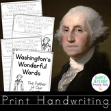 Handwriting Washington Quotes