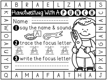 Handwriting (With a Punch)