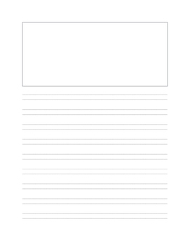 Handwriting Without Tears 2nd Grade Writing Paper with Picture