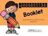 Handwriting Without Tears Approach Handwriting Booklet