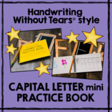 Handwriting Without Tears® style CAPITAL LETTER Practice B