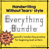 Handwriting Without Tears® style EVERYTHING growing bundle