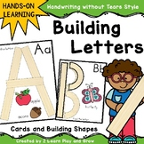 Handwriting Without Tears HWT Inspired Letter Building Cards
