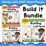 Handwriting Without Tears Letter and Number Building Cards Bundle HWT Inspired