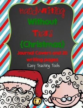 "Handwriting Without Tears Paper ""Christmas"" Edition"