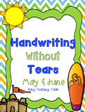 "Handwriting Without Tears Paper ""End of the Year"" Edition"