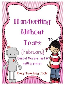 """Handwriting Without Tears Paper """"February"""" Edition"""