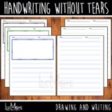 Handwriting Without Tears Style Practice Writing and Drawi