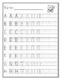 Handwriting Without Tears UpperCase and LowerCase Practice