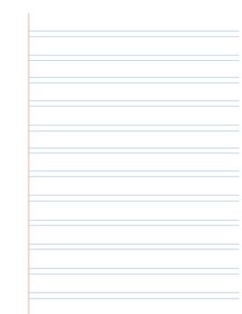 Handwriting Without Tears Paper  Double Lined Paper