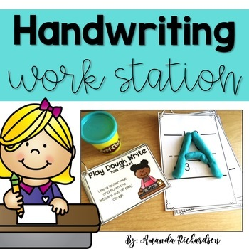 Handwriting Practice and Work Station