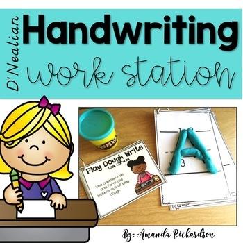 Handwriting Work Station (D'Nealian)