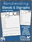 Handwriting Workbook Blends and Digraphs - Whimsy Workshop