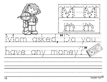Handwriting Workbook:  Sight Word Sentences