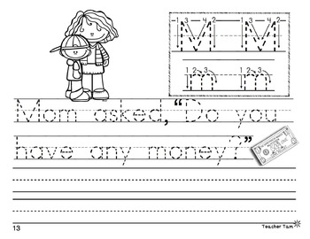 Handwriting Practice with Letter Formation | Alphabet Tracing Worksheets
