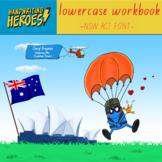 Handwriting Workbook in NSW ACT Font