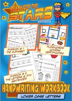 Handwriting Workbook (lower case letters) - CC L.K.1