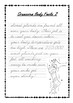 Handwriting Worksheet Bundle: Gruesome Body Facts - D'Nealian Cursive