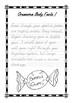 Handwriting Worksheet Bundle: Gruesome Body Facts in D'Nea
