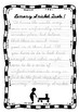 Handwriting Worksheet Set: Lemony Snicket Quotes in D'Nealian Cursive