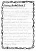 Handwriting Worksheet Bundle: Lemony Snicket Quotes in D'Nealian Manuscript