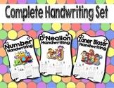 Handwriting Worksheet Bundle Set