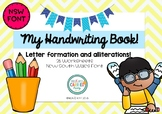 Handwriting Worksheet NSW Foundation Font with Alliterations! Print and Go!