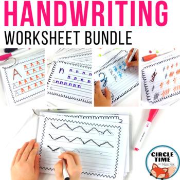 Handwriting Worksheets Bundle