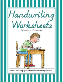 Handwriting Worksheets - D'Nealian Manuscript
