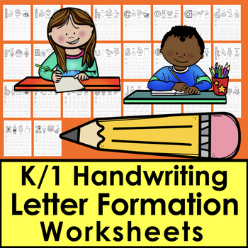 Handwriting Worksheets - Lowercase Letter Formation