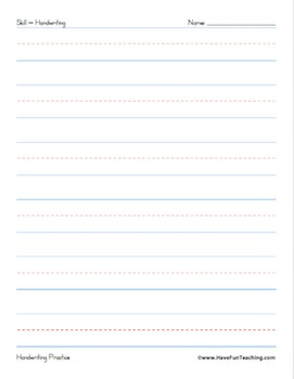 Handwriting Worksheets Super Pack (436 Handwriting Worksheets)