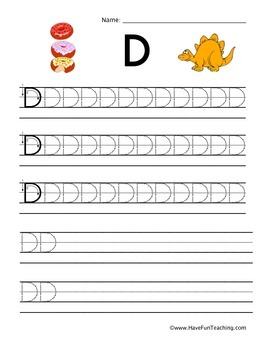 Handwriting Worksheets - Uppercase and Lowercase Letters