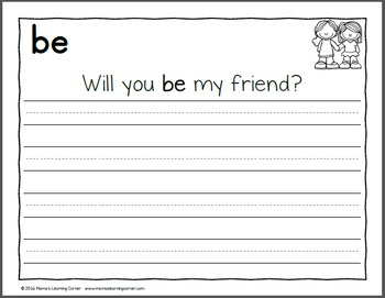 Handwriting Worksheets for Kids: Dolch Word BUNDLE!