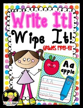 Handwriting {Write & Wipe Mats}